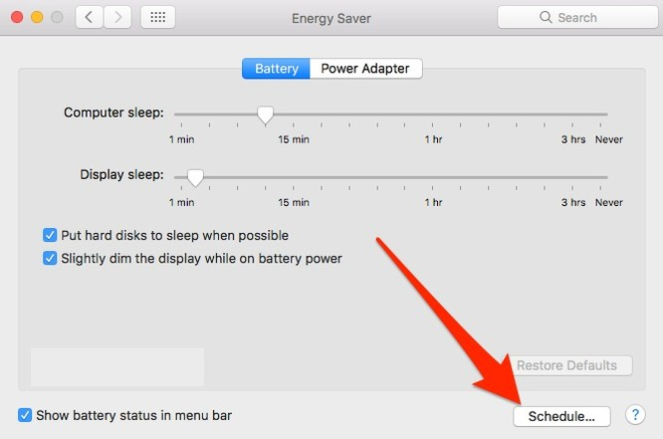 Hướng dẫn hẹn giờ tắt máy trên macOS ảnh 2