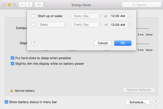 Hướng dẫn hẹn giờ tắt máy trên macOS ảnh 3
