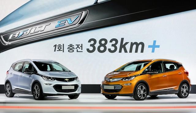 """Triển lãm ô tô Seoul 2017 - Sàn diễn của xe """"xanh"""" ảnh 3"""