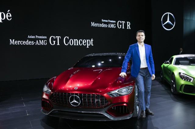 """Triển lãm ô tô Seoul 2017 - Sàn diễn của xe """"xanh"""" ảnh 14"""