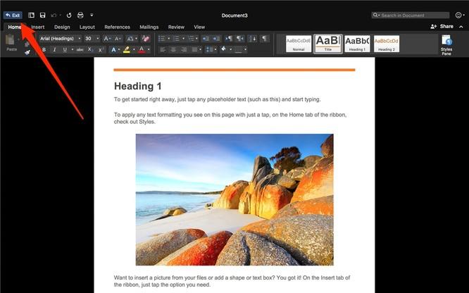 Hướng dẫn bật Focus Mode trên Word 2016 cho Mac để tập trung hơn ảnh 3