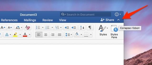Hướng dẫn bật Focus Mode trên Word 2016 cho Mac để tập trung hơn ảnh 6