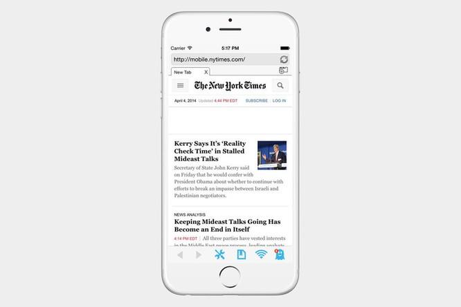 5 trình duyệt web tốt nhất cho iPhone ảnh 2