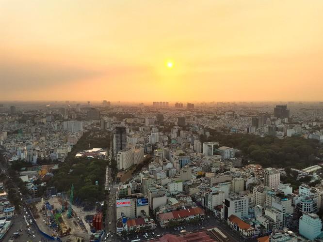 """Sài Gòn từ trên cao """"quen mà lạ"""" qua lăng kính Galaxy A 2017 ảnh 3"""