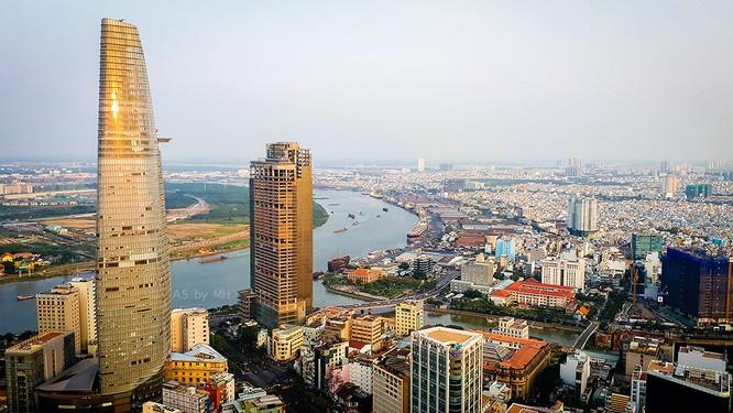 """Sài Gòn từ trên cao """"quen mà lạ"""" qua lăng kính Galaxy A 2017 ảnh 4"""