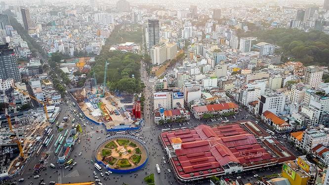 """Sài Gòn từ trên cao """"quen mà lạ"""" qua lăng kính Galaxy A 2017 ảnh 5"""