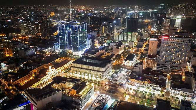 """Sài Gòn từ trên cao """"quen mà lạ"""" qua lăng kính Galaxy A 2017 ảnh 7"""