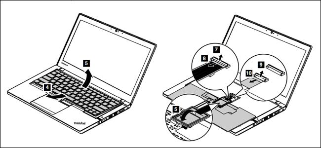 Hướng dẫn thay bàn phím và touchpad laptop tại nhà ảnh 1