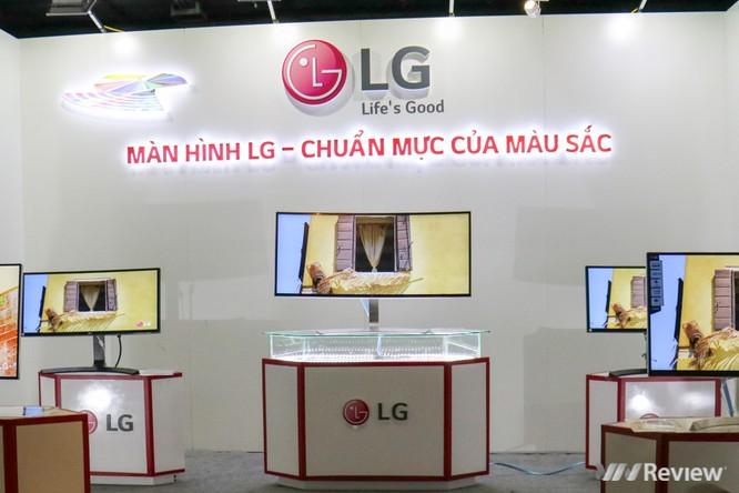 Cận cảnh dòng màn hình cho dân thiết kế, chuẩn màu sắc của LG tại Việt Nam ảnh 1