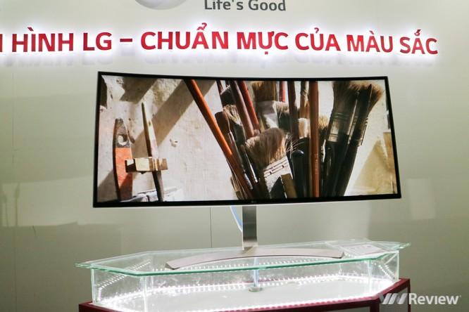 Cận cảnh dòng màn hình cho dân thiết kế, chuẩn màu sắc của LG tại Việt Nam ảnh 4