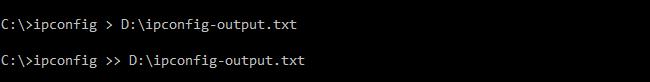 Cách để lưu các dòng lệnh Command Prompt sang file văn bản ảnh 3