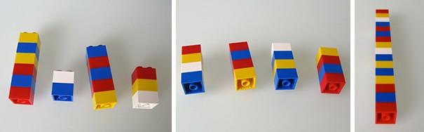Một cô giáo dùng LEGO để dạy trẻ em học toán, cực dễ hiểu ảnh 2