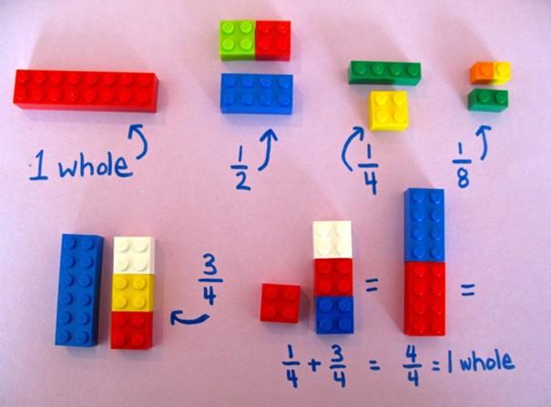 Một cô giáo dùng LEGO để dạy trẻ em học toán, cực dễ hiểu ảnh 4