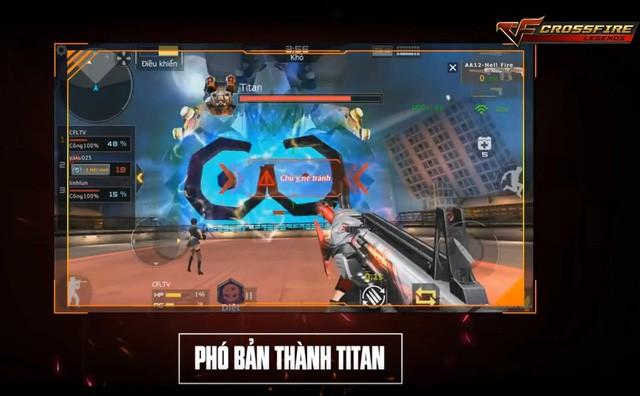 Phó bản Thành Titan cũng là một tính năng hấp dẫn mới trong Crosfire Legends