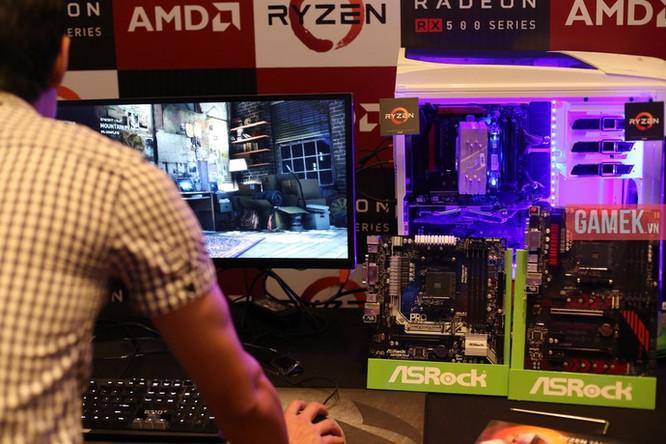 AMD chính thức ra mắt CPU Ryzen, VGA Radeon RX 500 tại Việt Nam: Giá tốt, hiệu năng cao, rất đáng mua