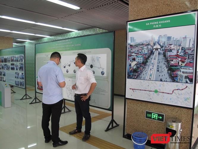 Cận cảnh nhà ga, tàu mẫu đường sắt trên cao Cát Linh - Hà Đông ảnh 6