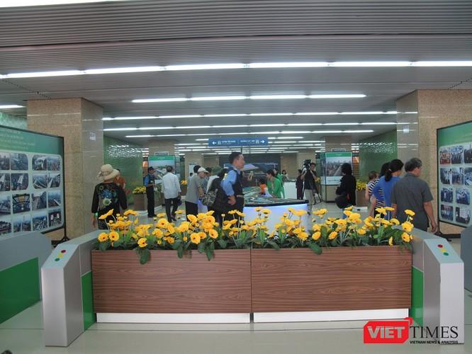 Cận cảnh nhà ga, tàu mẫu đường sắt trên cao Cát Linh - Hà Đông ảnh 7