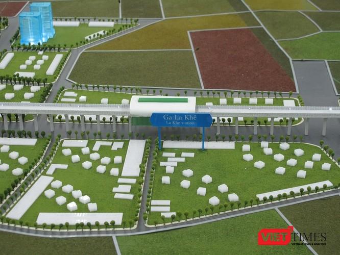 Cận cảnh nhà ga, tàu mẫu đường sắt trên cao Cát Linh - Hà Đông ảnh 10