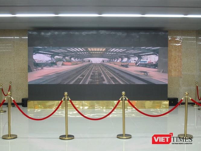Cận cảnh nhà ga, tàu mẫu đường sắt trên cao Cát Linh - Hà Đông ảnh 15