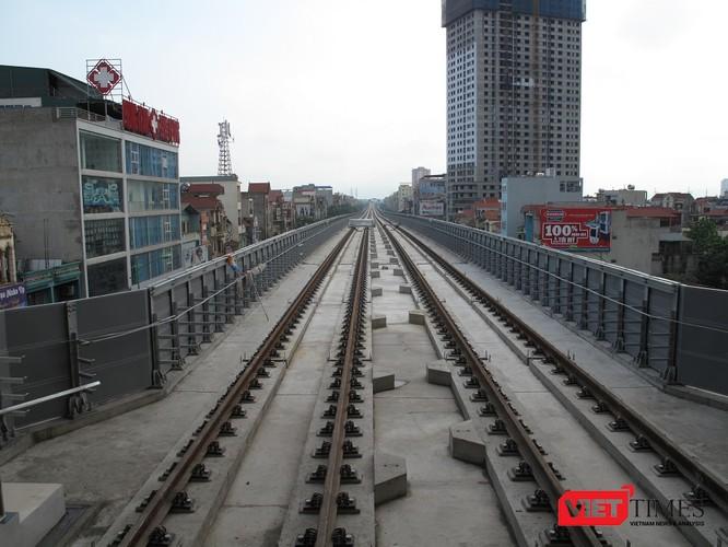 Cận cảnh nhà ga, tàu mẫu đường sắt trên cao Cát Linh - Hà Đông ảnh 22