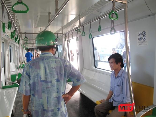 Cận cảnh nhà ga, tàu mẫu đường sắt trên cao Cát Linh - Hà Đông ảnh 26