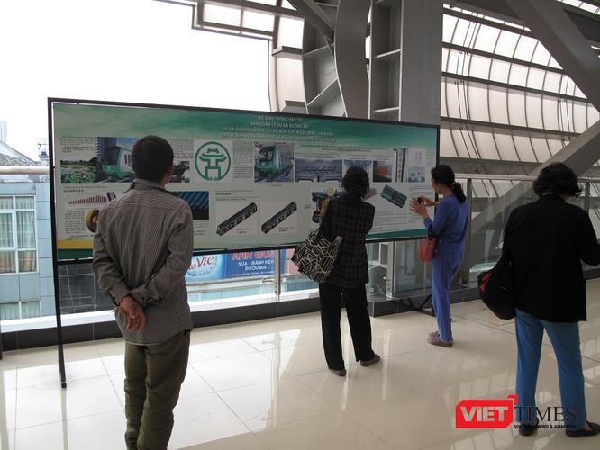 Cận cảnh nhà ga, tàu mẫu đường sắt trên cao Cát Linh - Hà Đông ảnh 28