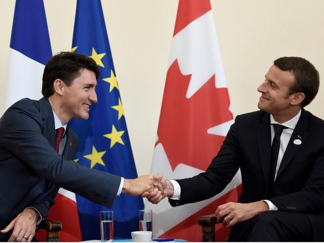 """Những hình ảnh """"đốn tim"""" dân mạng của hai vị nguyên thủ tại Hội nghị G7 ảnh 6"""