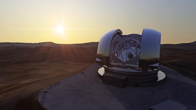 Kính thiên văn quang học và hồng ngoại lớn nhất thế giới đang được xây dựng