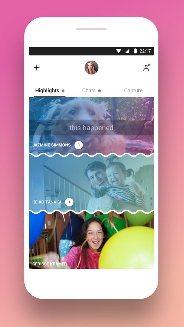 Microsoft đang làm cho giao diện Skype giống hệt Snapchat ảnh 5