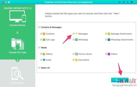 2 cách khôi phục tin nhắn đã xóa trên smartphone ảnh 4