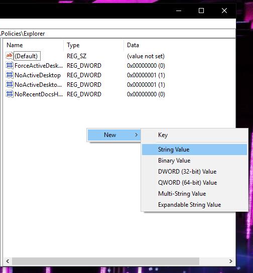Ẩn tùy chọn thiết lập trong Settings của Windows 10 ảnh 3