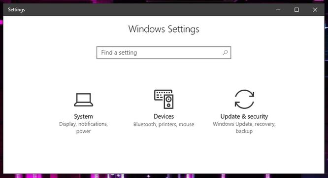 Ẩn tùy chọn thiết lập trong Settings của Windows 10 ảnh 6