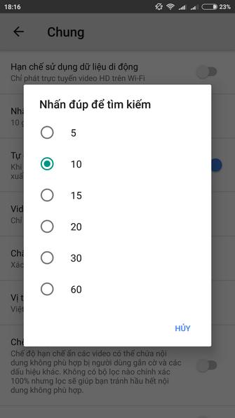 """6 """"bí kíp"""" dùng YouTube trên Android và iOS ảnh 2"""