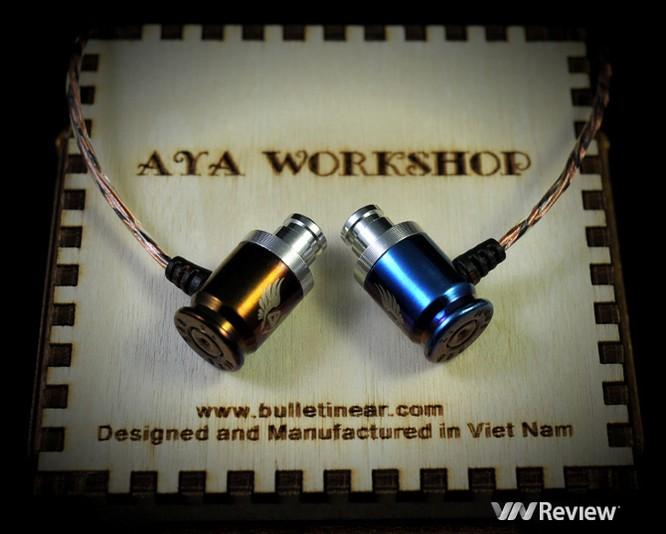 Với thiết kế có thể thu hút sự chú ý của tất cả mọi người - vỏ đạn Makarov, tai nghe AYA MK II còn mang trong mình chất âm khá tốt trong phân khúc tai nghe cao cấp giá siêu rẻ.