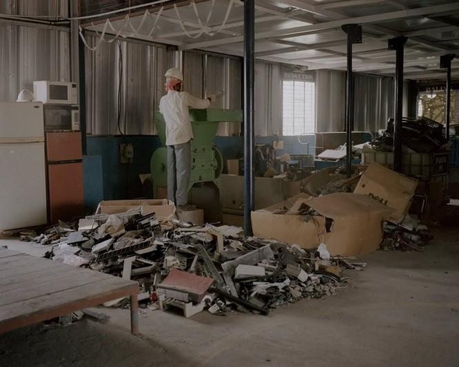 Đây là nơi rác thải điện tử được xử lý: Tràn ngập ô nhiễm, độc hại ảnh 14