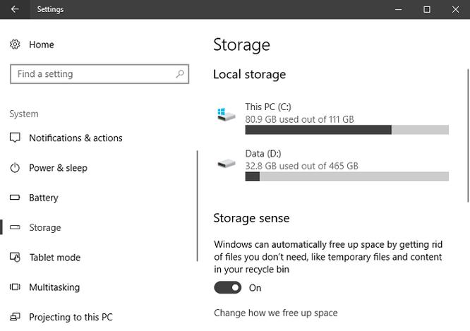 Mẹo giải phóng không gian lưu trữ trên Windows 10 ảnh 1