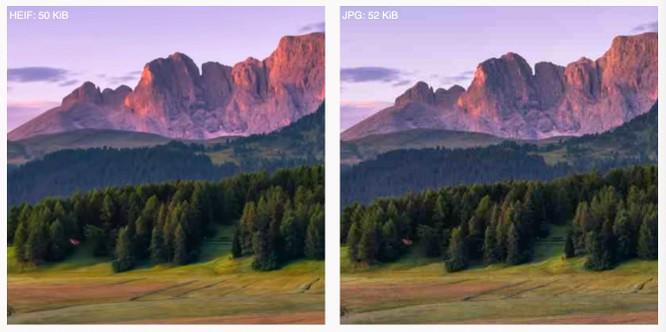 Tìm hiểu về định dạng ảnh HEIF mới của Apple hứa hẹn thay thế JPEG ảnh 2