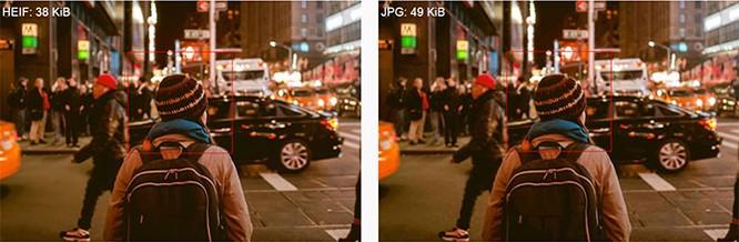 Tìm hiểu về định dạng ảnh HEIF mới của Apple hứa hẹn thay thế JPEG ảnh 1