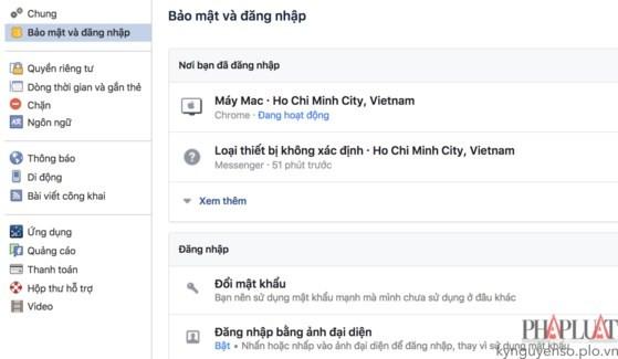 Cách đăng nhập Facebook không cần mật khẩu ảnh 1