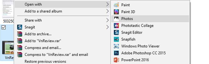 Cách đơn giản để chuyển file ảnh thành PDF trên Windows 10 ảnh 1