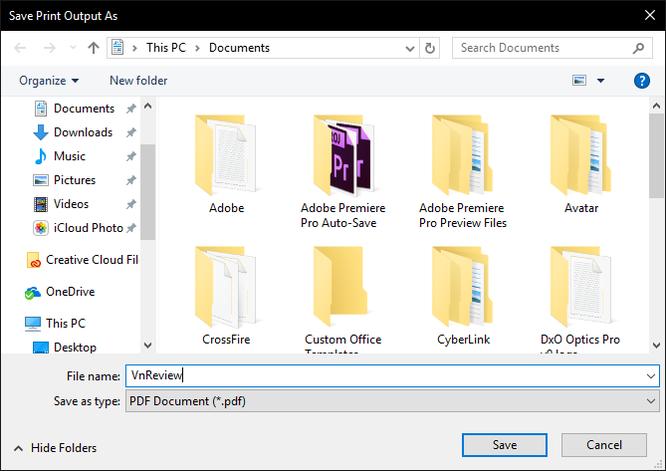 Cách đơn giản để chuyển file ảnh thành PDF trên Windows 10 ảnh 4