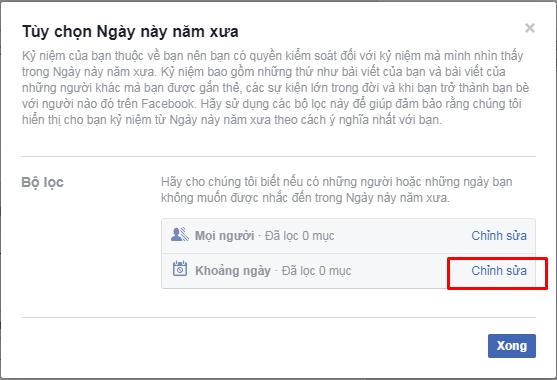 Làm sao để Facebook không nhắc lại những kỉ niệm đau buồn? ảnh 5