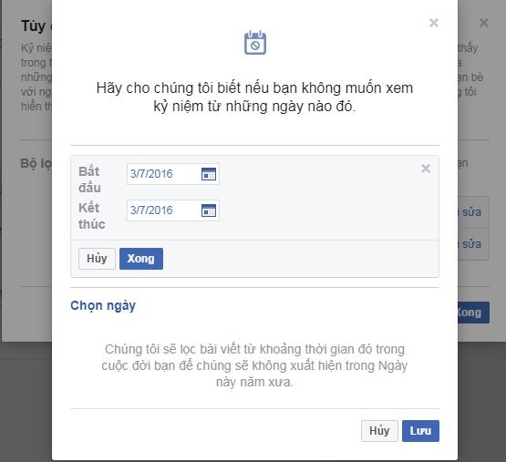 Làm sao để Facebook không nhắc lại những kỉ niệm đau buồn? ảnh 7