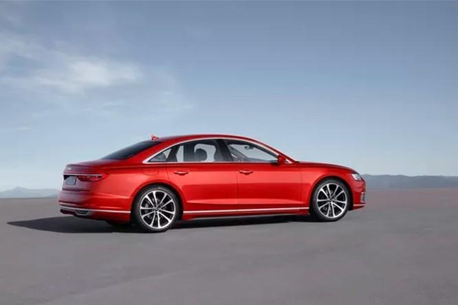 Audi A8: chiếc sedan sang trọng với công nghệ tự lái