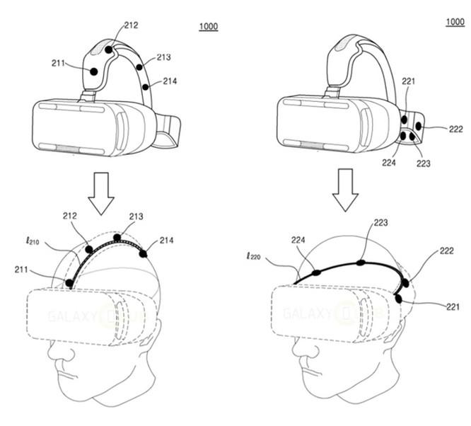 """Samsung được cấp bằng sáng chế phương thức xác thực cho Gear VR dựa trên """"nhận dạng đầu"""""""