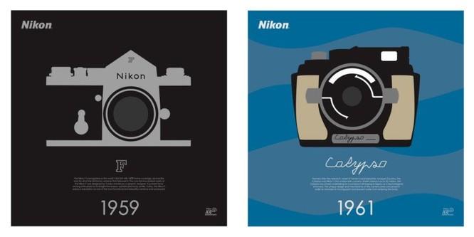 """Bộ sưu tập poster kỷ niệm 100 năm """"cực độc"""" của Nikon ảnh 2"""