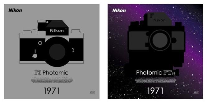 """Bộ sưu tập poster kỷ niệm 100 năm """"cực độc"""" của Nikon ảnh 3"""