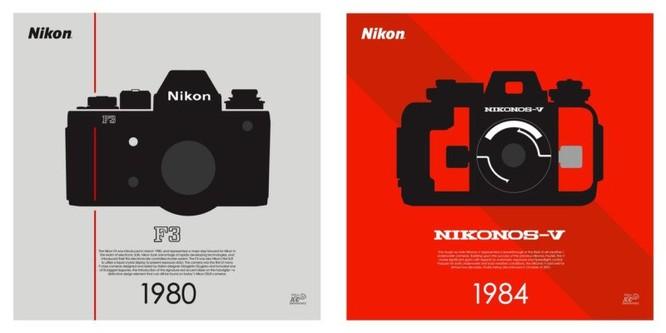 """Bộ sưu tập poster kỷ niệm 100 năm """"cực độc"""" của Nikon ảnh 4"""