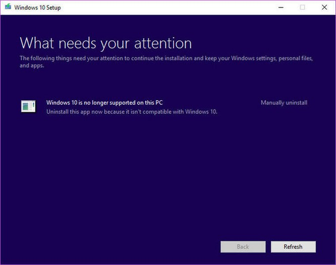 Microsoft ngừng hỗ trợ Windows 10 trên một số dòng máy tính ảnh 1