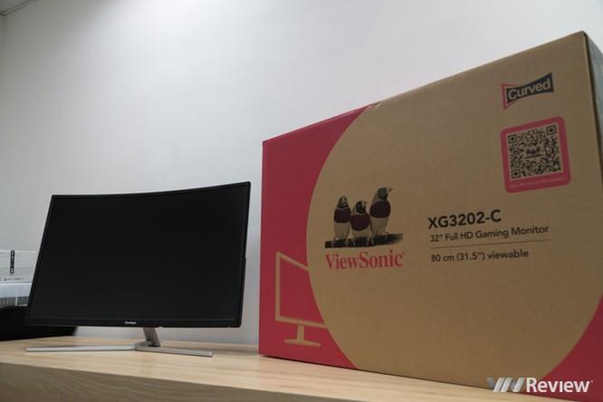 Màn hình ViewSonic XG3202-C: Kiểu dáng đẹp, kích thước lớn, tần số quét cao ảnh 1